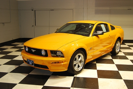 """2007 mustang gt coupe"""